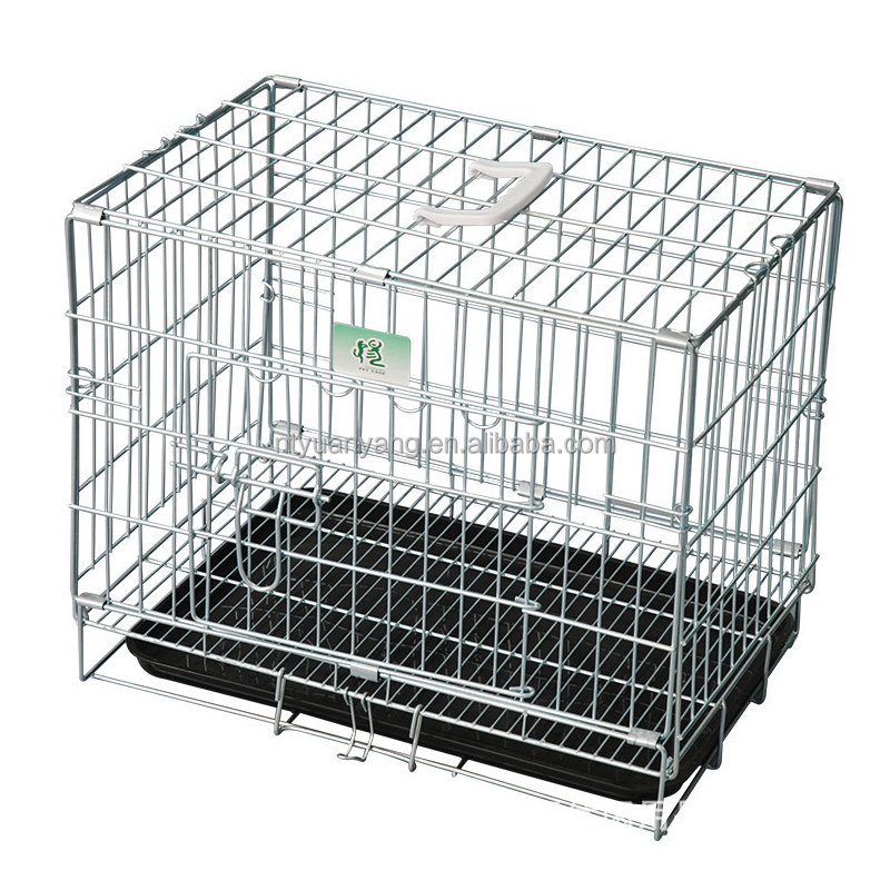 Comfortable Wholesale Outdoor stainless steel dog cage