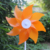 New Fashion 20cm 8 leaf Plastic Eight Leaves Diy Pinwheel Windmill Toy