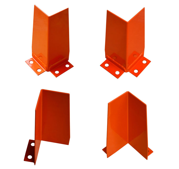 Warehouse rack corner guard plastic post upright protector