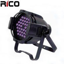 disco show event party 32bit no flicker UV 36x3w Led par can lights sale with sharpy price