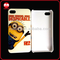 Customize your Design OEM Despicable Me Case for iphone 4 4s, New Cute Cartoon Mobile phone Back Cover