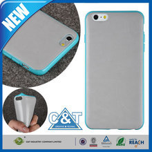 C&T Mobile Phone Protective soft gel tpu case for apple iphone 6 plus