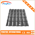 plastic pvc roofing materials/fire-resistant/asa synthetic resin tile