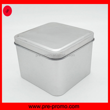 Blank sliding lid square tin can