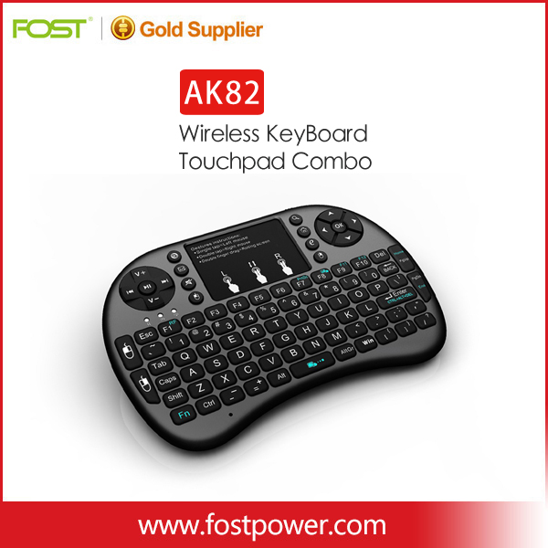2.4GHz Wireless Fly Air Mouse Keyboard Remote For Tablet PC Android TV BOX