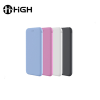 Thin powerbank ultra slim qc 3.0 unique perfume polymer mobile with power bank portable phone charger oem odm 3000mah power bank