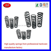 custom motorcycle spare parts carbon steel stainless steel compression spring,suspension coil spring