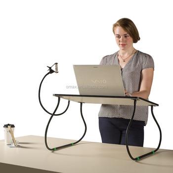 adjustable portable wooden laptop stand laptop desk on bed