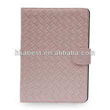 Premium Leather Cover For Apple iPad mini,Knitting Pattern Leather Case For iPad mini
