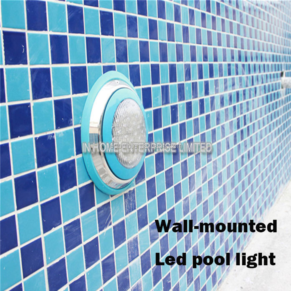 High power 54W RGB external remote control IP68 swimming led pool light