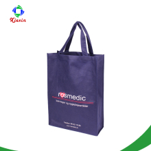 Custom logo printed reusable grocery bags promotional Eco-friendly non woven bag for shopping