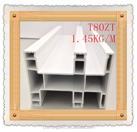 80mm sliding series upvc profile for door and window