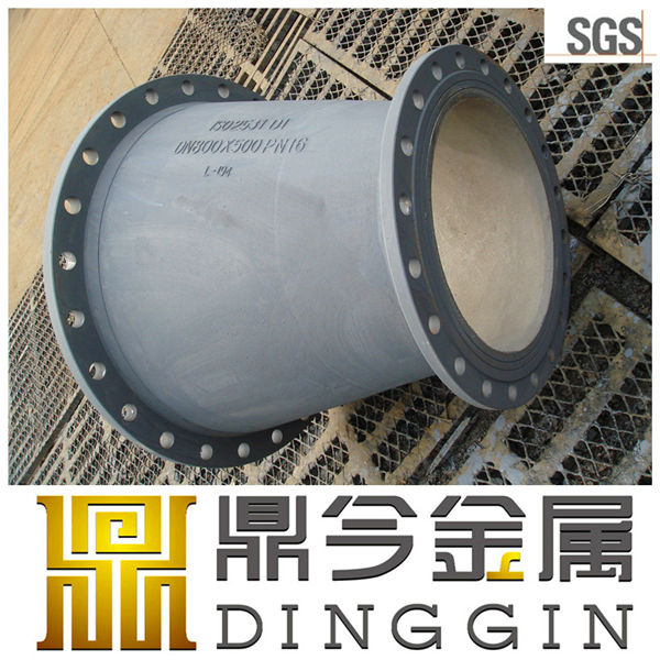 DI pipe fitting-ISO2531 flange reducer