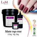 L&M nails supply Wholesale Nail UV Base Top Coat Gel Bulk package