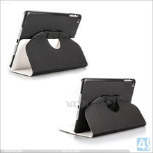 New hot sale China supplier folding design dual colors cool stylish flip leather case for ipad mini