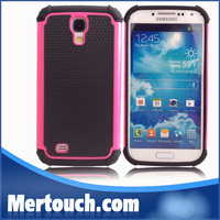 mobile phone case for Samsung galaxy S4 i9500 football skin hard PC + soft TPU back cover