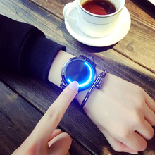 Men And Women AliExpre <strong>Watch</strong> New Creative Personality Leather Normal Waterproof LED <strong>Watch</strong> <strong>Smart</strong> Electronics Casual <strong>Watches</strong>