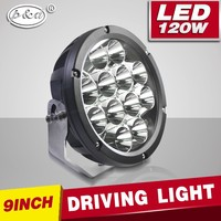 New arrival 9inch 120w led driving light, super bright led driving light 120w