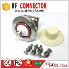 1-5/8 Series Female male RF Connector With 4 Hole Flange Circular plate conversion adapter