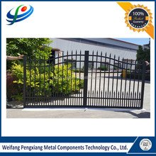 Manufacturer Cheap prefab powder coating aluminum garden fence gate