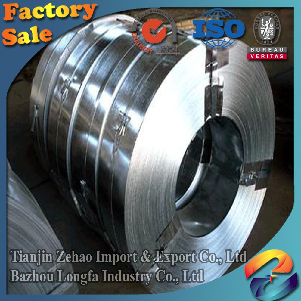 business industrial Hot dipped galvanized steel strip