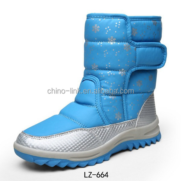 Middle cut cheap elegant snow boot for women