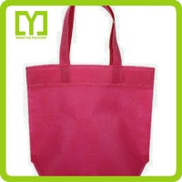 Customized Colorful Non Woven Cheap Clear Plastic Bag With Handles Disposable Nonwoven Cloth Bag