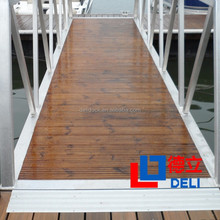 Pine Decking for Floating Dock & Floating Bridge & Floaitng House