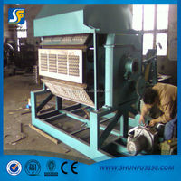 Good quality egg tray machine with reasonable price