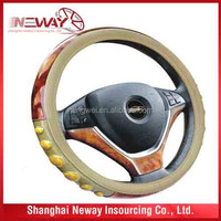 Auto car accessories 3-spoke steering wheel cover /wheel shelter