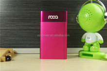 V-power private module 6500mah power bank charger aluminum case 2600mah power bank