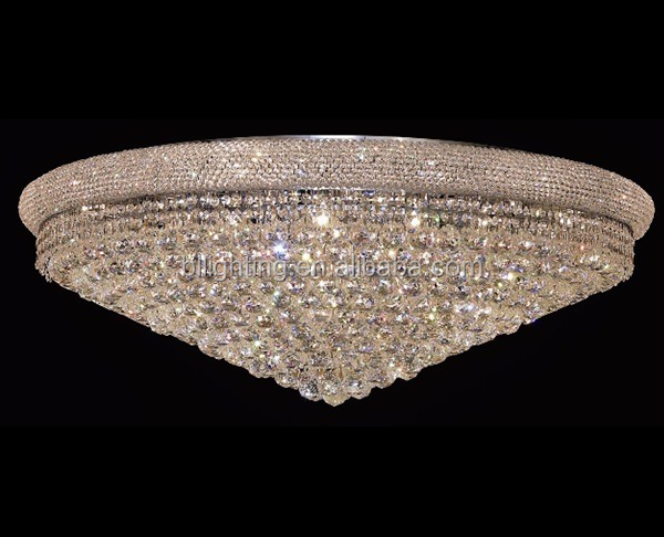 Beautiful big crystal european cieling light