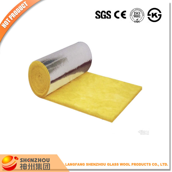 langfang waterproof 50mm glass wool pipe insulation cladding