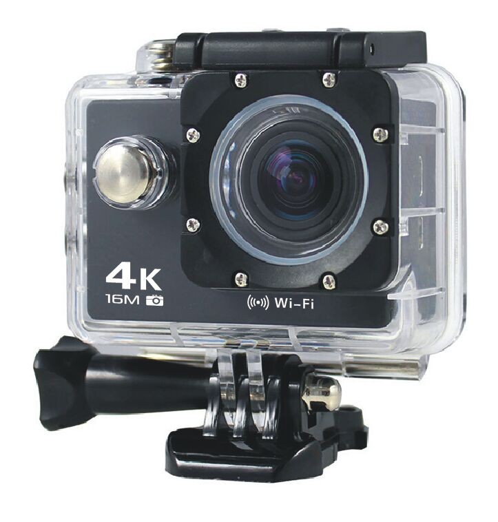 4K Ultra HD 2 Inch Screen 1080P Waterproof Wifi action camera 4k mini video recorder with 2.4G remote control