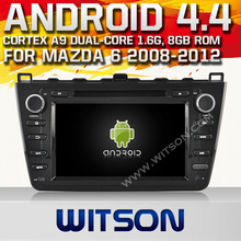 WITSON Android 4.4 AUTO RADIO DVD FOR MAZDA 6 2008-2012 HD 3G Wifi Multi-touch 3D UI 1080P HD VIDEO