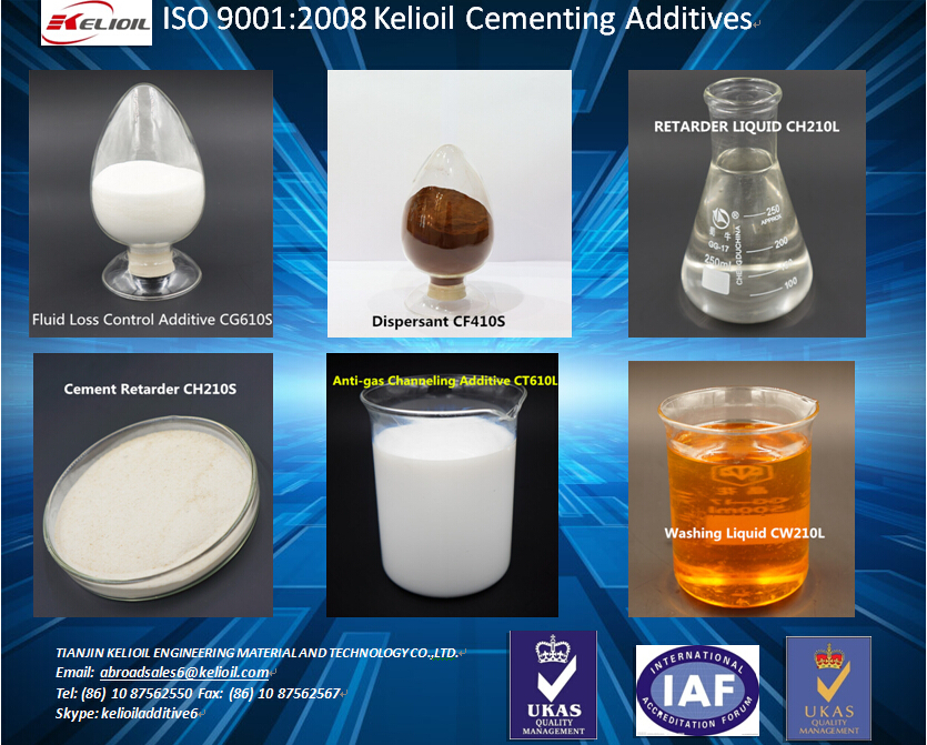Oil Well chemical Cementing additive Halad-344 similar AMPS Fluid Loss Additive CG610S-P