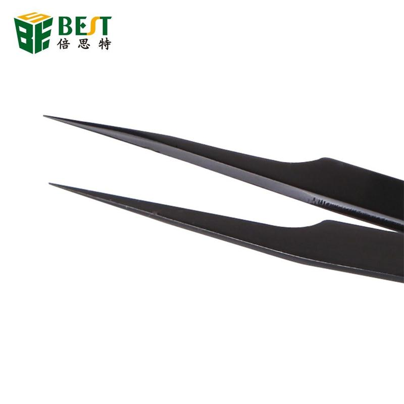 Newest OEM extra long plastic tweezers