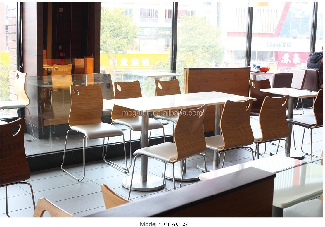 Modern cafe chairs and tables - Food Center Fast Food Dining Table And Chairs Foh Cmy96