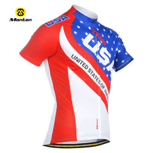Bicycle wear /cycling jersey set sublimation with USA flat special for men