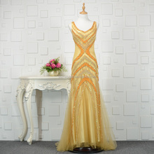 V Neck Long Beaded Sequins Luxury European Style Mother Party Dress Real Mother of the Bride Dresses Evening Gowns