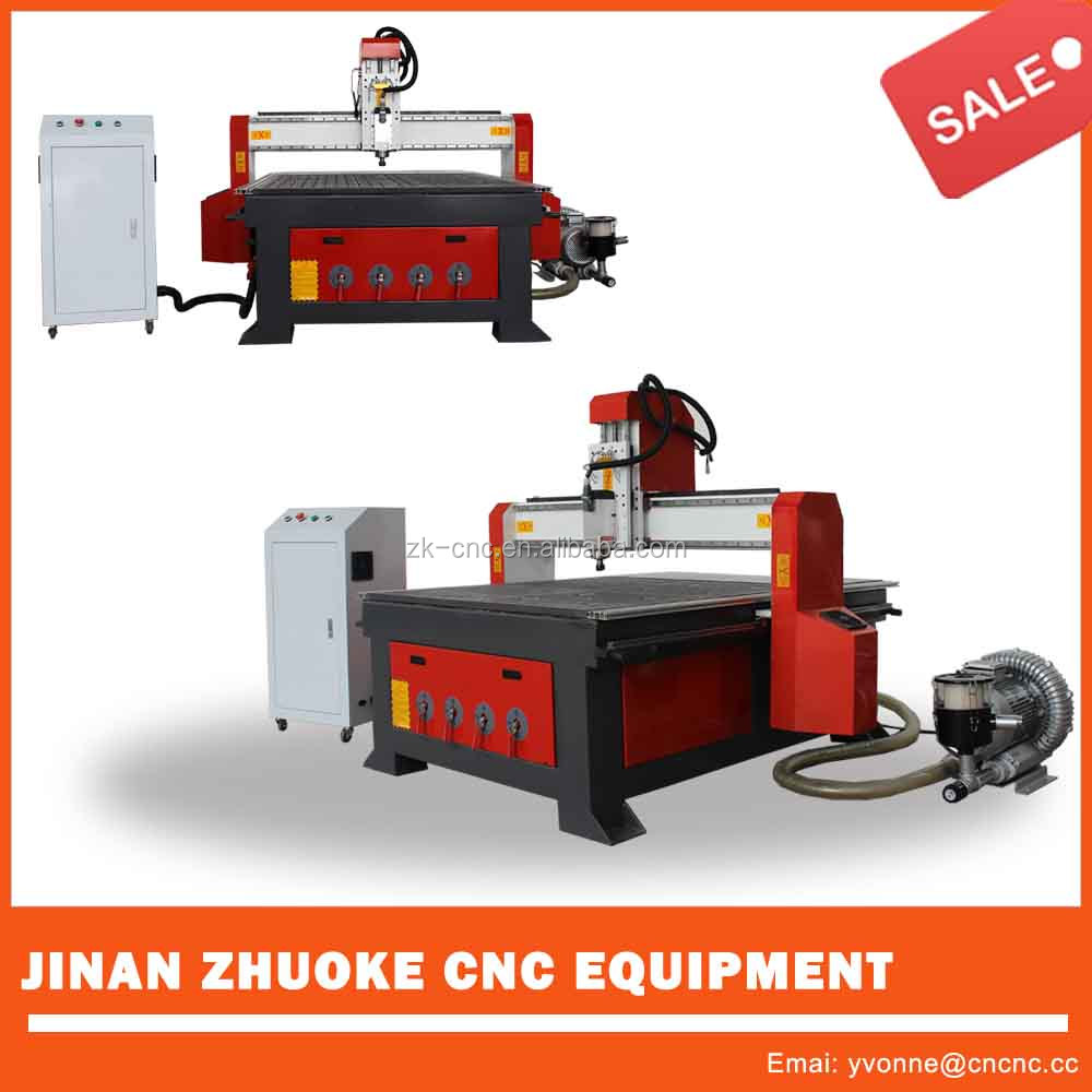 China Jinan HSD air cooling spindle wooden furniture engraving cutting machine ZKM-1313A 1300*1300mm
