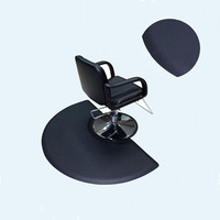 Waterproof PVC PU anti fatigue chair beauty salon barber station floor mats,barber workstation antifatigue mat