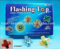 Flash spin top / light up spinning top toy
