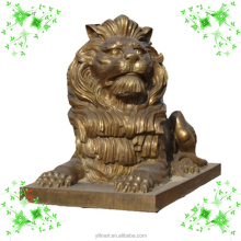 perfect work brass carving lion (YL-K031)
