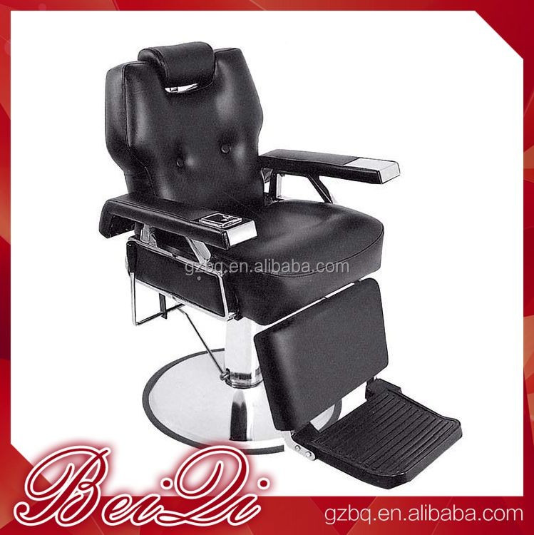 2017 wholesale hair salon furniture styling barber chair reclining from Guangzhou beiqi