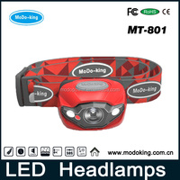 Headlight LED Head Flash Light Head Torch Light For Bicycle Camping Hiking Travelling
