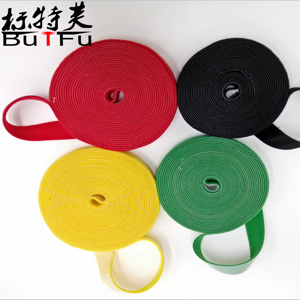 100%nylon magice tape back to back hook and loop tape