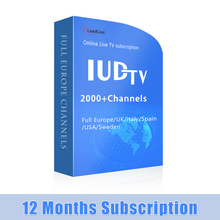 24 Hours Free Test Code IUDTV 1 Year Satellite Receiver Software Upgrade for TV Box Android 7.0