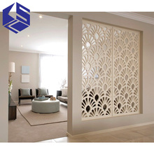 Superior quality wooden screen decoration wooden partition wood screen panel