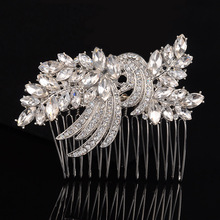 2016 Trending Products Bridal Headpiece Crystal Wholesale Fashion Jewelry